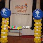 Baloncum, Balon Süsleme Sütun Balon Dekorasyon 1307