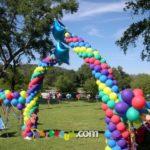 Baloncum Balon Süsleme Balon Ağaç Dekorasyon 1414